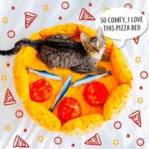 Pizza Cat Bed